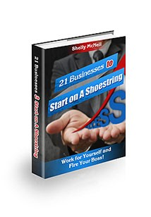 21 Businesses to Start on A Shoestring Book Cover
