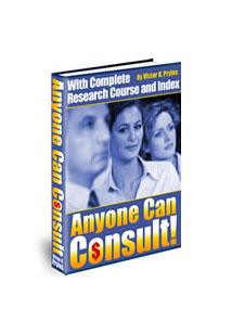 Anyone can Consult Book Cover