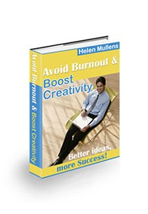 Book cover for Avoid Burnout and Boost Creativity