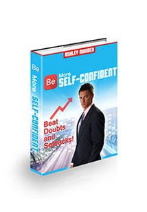 Book cover for Be More Self confident