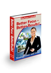 Better Focus Better Results Book Cover