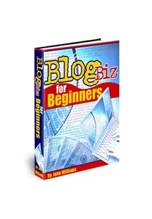 Blog Biz for Beginners Book Cover