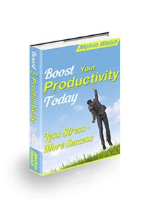 Boost Your Productivity Today Book Cover