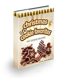 Christmas Cookie Favorites Book Cover