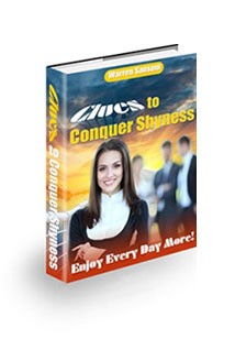 Clues to Conquer Shyness Book Cover