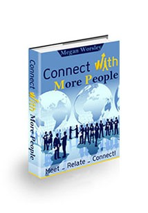 Book cover for Connect with More People