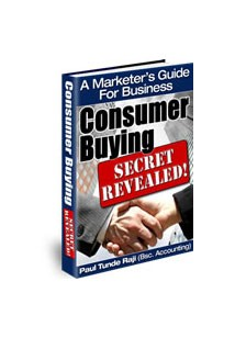Consumers Buying Secrets Revealed Book Cover