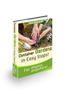 Container Gardens in Easy Steps Book Cover