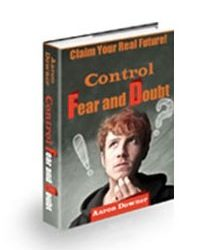 Book cover for Control Fear and Doubt