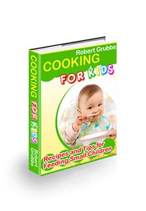 Cooking For Kids Book Cover