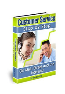 Customer Service Step by Step Book Cover