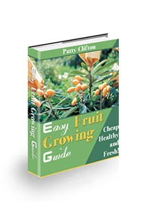 Easy Fruit Growing Guide Book Cover