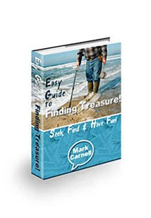 Book cover for easy guide to finding treasure