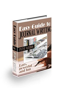 Book cover for easy guide to journal writing