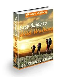 Book cover for easy guide to wild walking