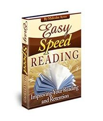 Book cover for easy speed reading