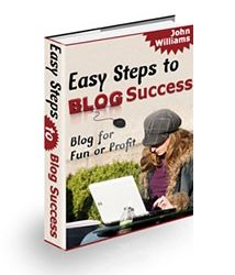 Easy Steps to Blog Success Book Cover
