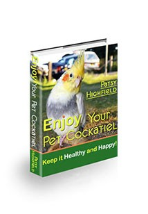 Enjoy Your Pet Cockatiel Book Cover