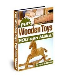 Fun Wooden Toys Book Cover