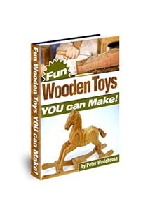 Fun Wooden Toys Book Cover