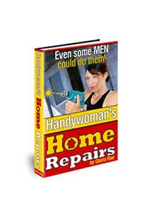 Handywoman's Home Repairs Book Cover