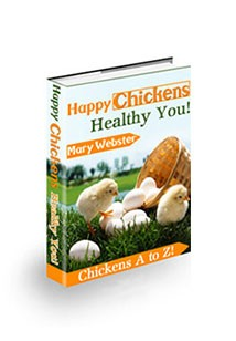 Happy Chickens, Healthy You Book Cover