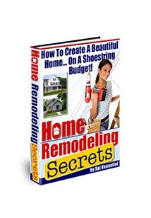 Home Remodeling Secrets Book Cover