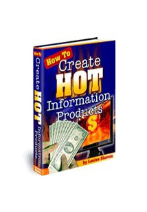 How To Create Hot Information Products Book Cover