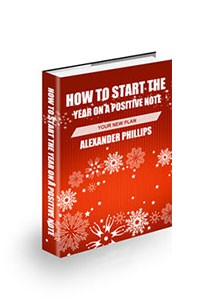 Book Cover For How To Start Your Year On A Positive Note