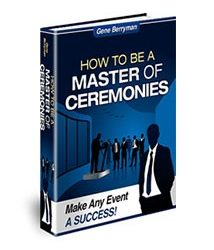 How to Be a Master of Ceremonies Book Cover