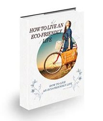 How to Live an Eco Friendly Life Book Cover