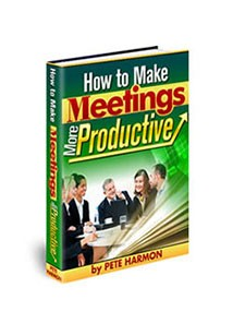 How to Make Meetings More Productive Book Cover