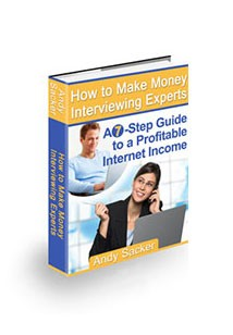 How to Make Money Interviewing Experts Book Cover