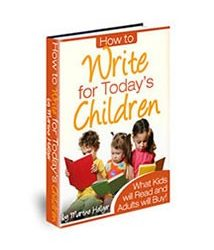 Book cover for how to write for todays children