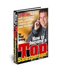 How to become a top salesperson Book Cover