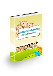 Indoor Games Old-Fashioned Fun Book Cover
