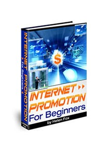Internet Promotion For beginners Book Cover