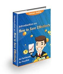 Book Cover For Introduction on How to Save Effectively