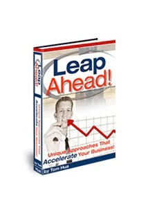 Book cover for leap ahead