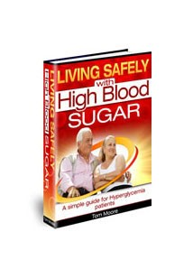 Living Safely with High Blood Sugar Book Cover