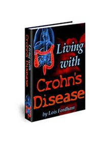 Living With Crohn's Disease Book Cover
