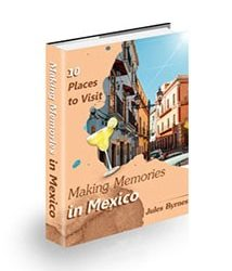 Book cover for making memories in mexico