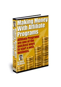 Making Money With Affiliate Programs Book Cover