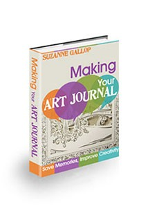 Book cover for making your art journal