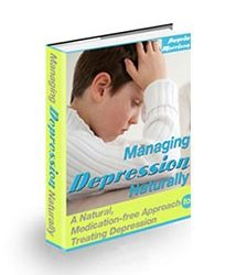 Managing Depression Naturally Book Cover