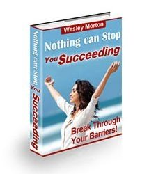 Nothing can Stop You Succeeding Book Cover
