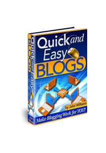 Quick and Easy Blogs Book Cover