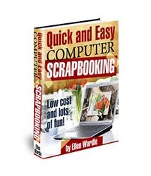 Quick and Easy Computer Scrapbooking Book Cover