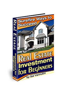 Book cover for real estate investment for beginners