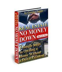 Real Estate No Money Down Book Cover
